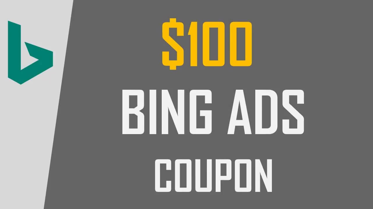 bing ads coupon, bing ads credit, bing ads coupon code, how to get bing ads coupon,